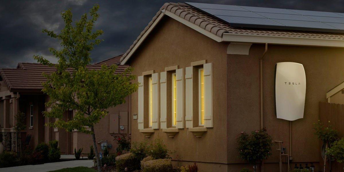 casas energia solares powerwall