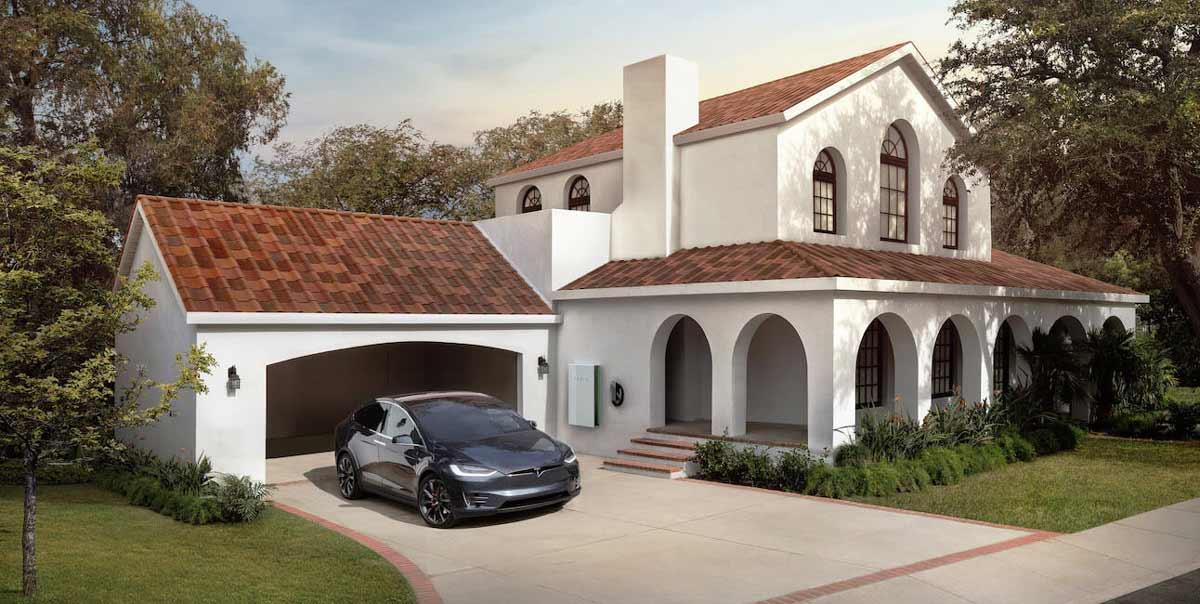 casas solares con placas fotovoltaicas
