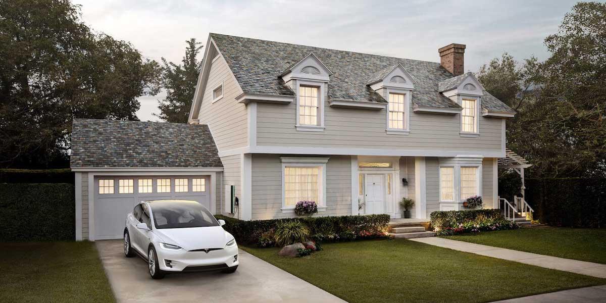 tesla solar roof panels para casa