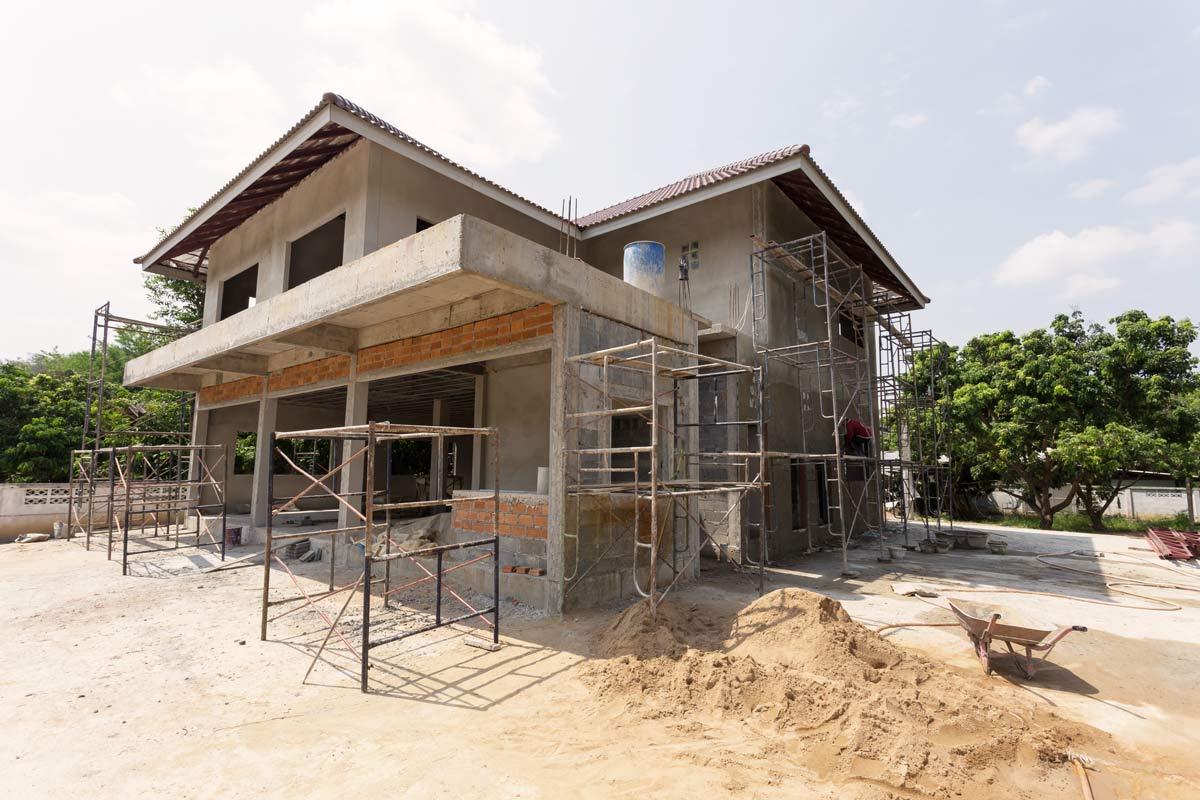 Comprar casa en construcción