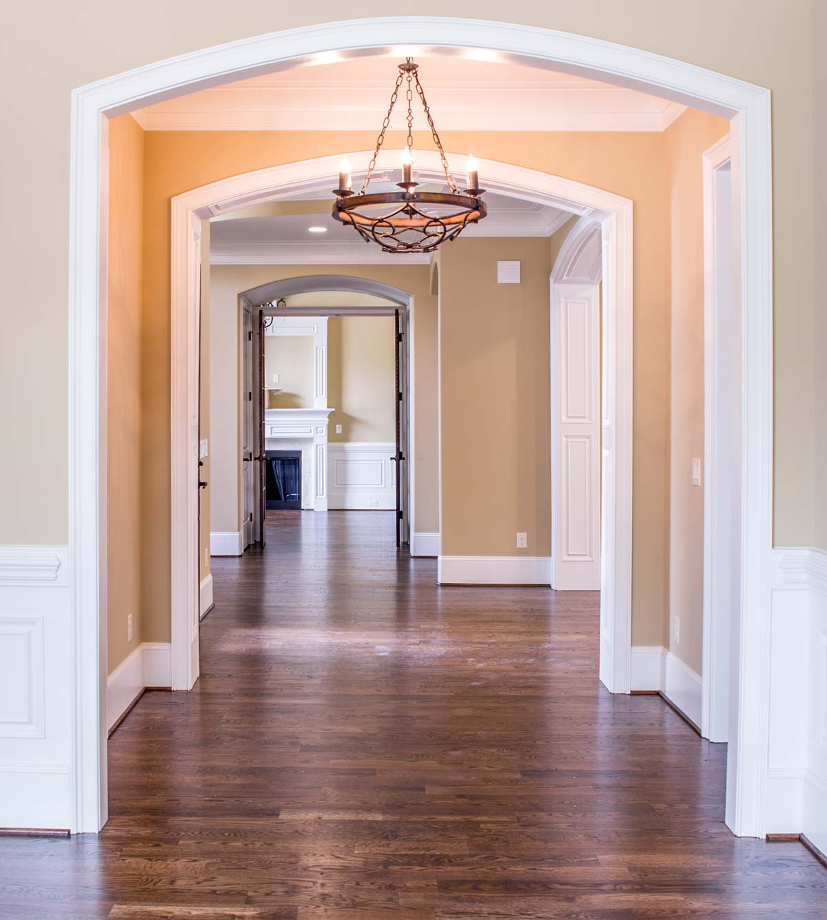 Entrada de la casa o el piso en venta