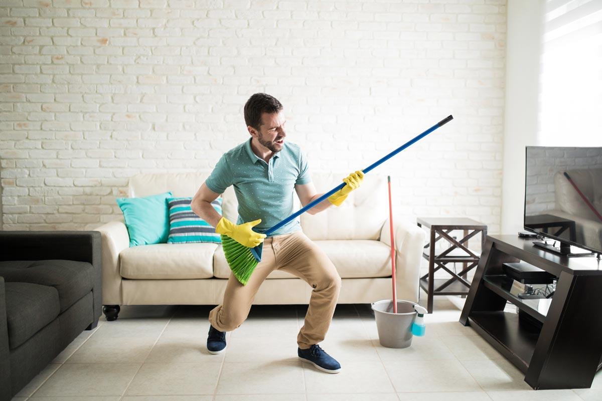 Compartir piso - La limpieza y el orden del piso