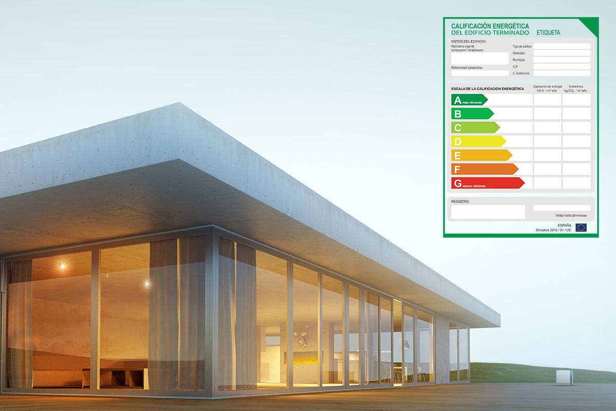 Etiqueta de eficiencia energética - Certificado Energético