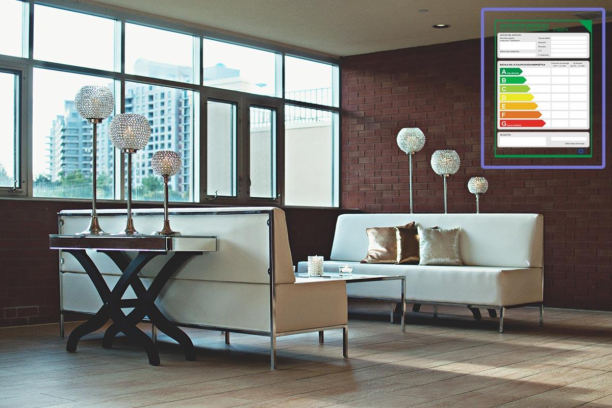 Certificado Energético con una Etiqueta Energética